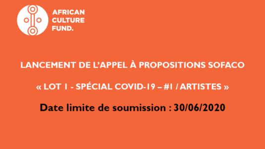 Sofaco Appel à Candidatures BeninCrea